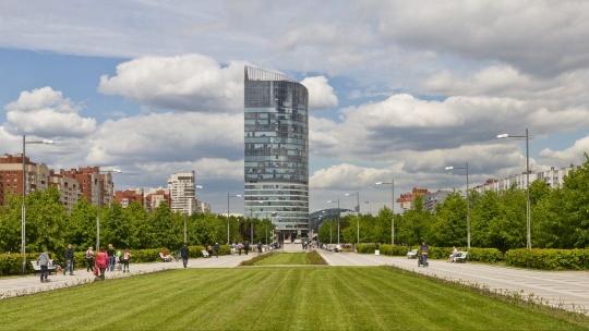 Парк имени 300-летия Санкт-Петербурга в Санкт-Петербурге