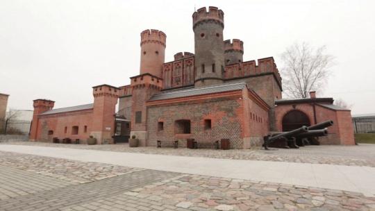 Крепость Фридрихсбург по Калининграду