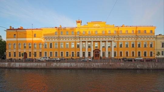 Дворец Юсуповых на Мойке в Санкт-Петербурге
