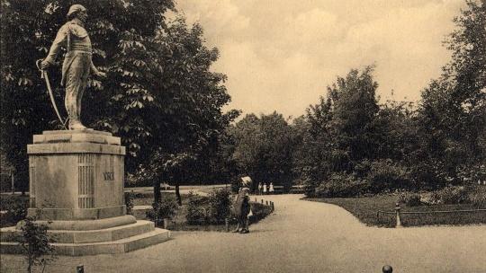 Памятник Йорку по Калининграду
