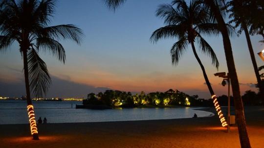 Экскурсия Сентоза на закате в Сингапуре