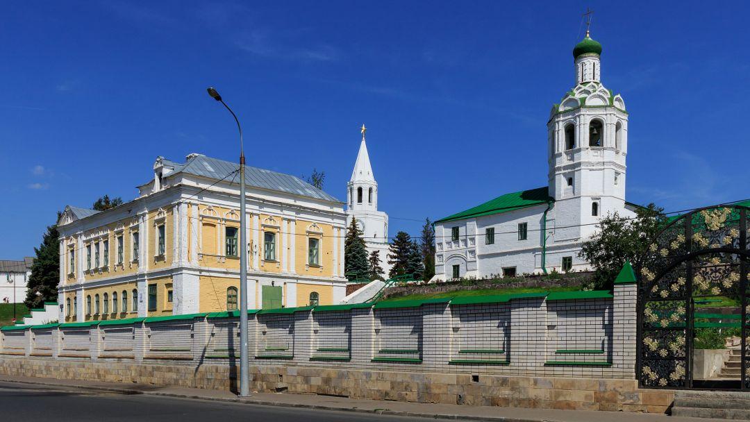 Казанский Иоанно-Предтеченский монастырь по Казани