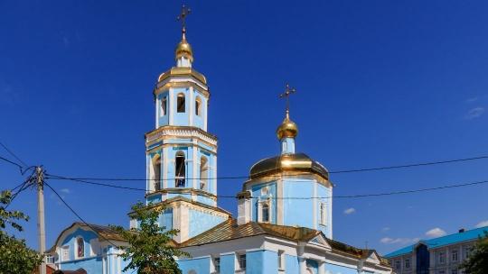 Храм Тихвинской иконы Божией Матери по Казани
