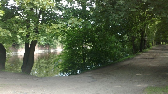 Парк Ратсхоф по Калининграду