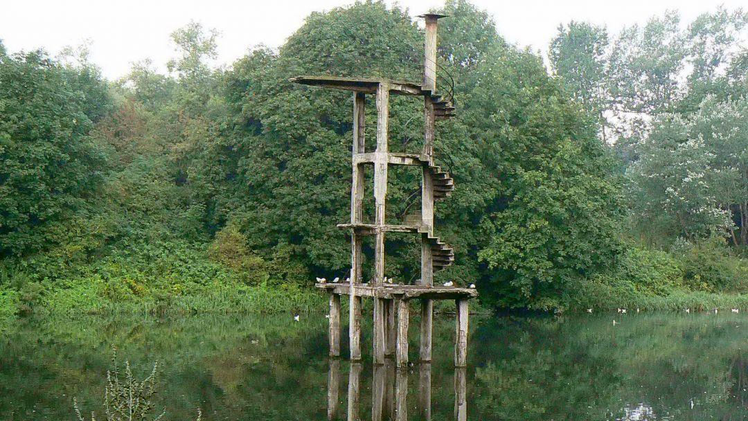 Ялтинский парк по Калининграду