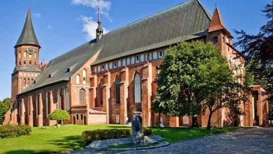 Кафедральный собор по Калининграду