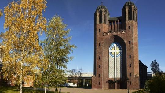 Крестовоздвиженский собор по Калининграду