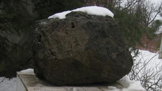 Мамоновский метеорит по Калининграду