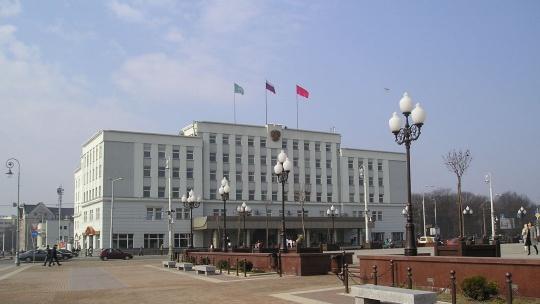 Площадь Победы по Калининграду