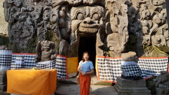 Памятник Ганеше на Бали