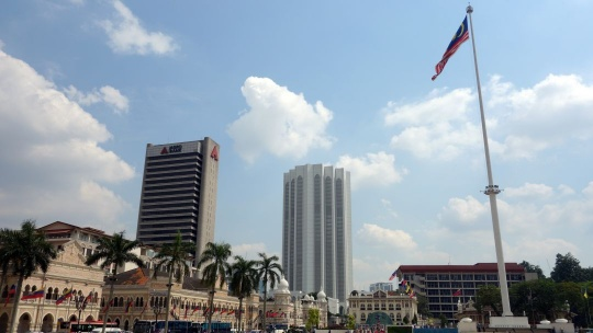 Площадь Мердека по Малайзии