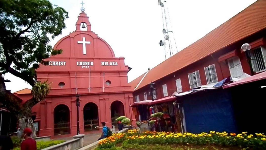 Церковь Христа в Малакке по Малайзии