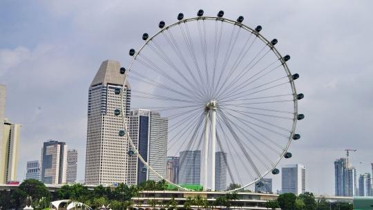 Сингапурское колесо обозрения  в Сингапуре