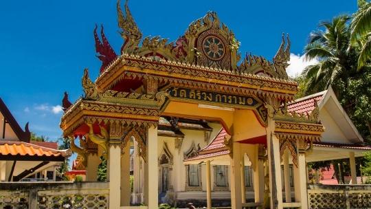 Храм Кири Вонгкарам по Самуи
