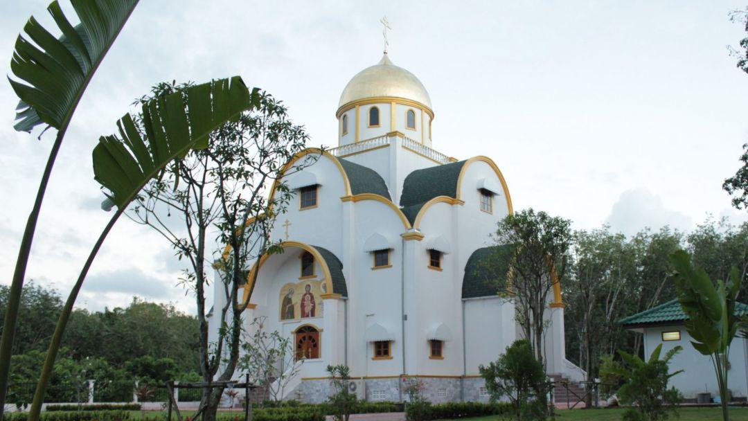 Православный храм на Самуи по Самуи