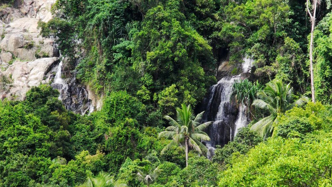 Водопад Na Mueang 2 по Самуи