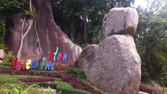 Водопад Siva Tara и камень любви по Самуи