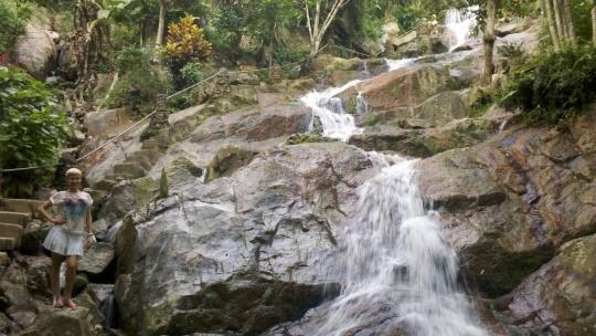 Водопад Wang Saotong по Самуи