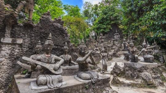 Секретный Сад Будды по Самуи