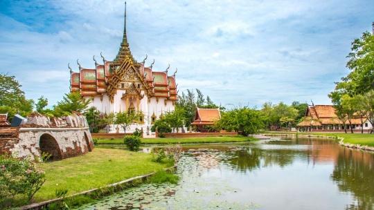 Древний город в Бангкоке
