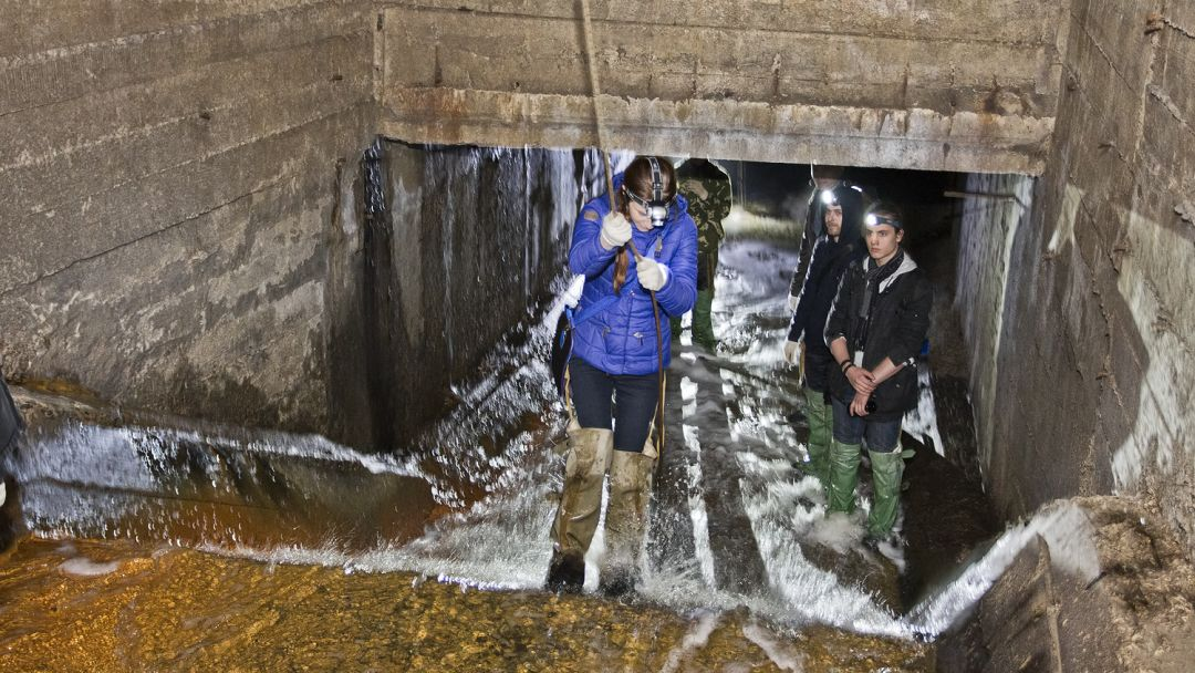 Экскурсия Экскурсия в подземную реку Неглинку