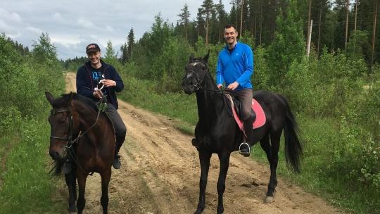 Экскурсия Конный поход Гладышевский заповедник в Санкт-Петербурге