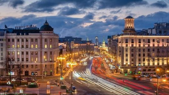 Экскурсия По главной улице столицы… по Москве