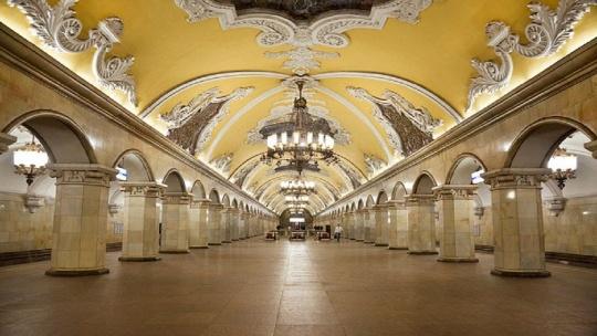 Экскурсия Экскурсия в метро по Москве