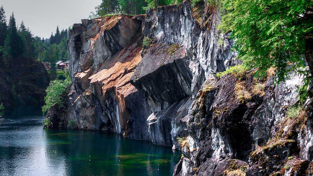 Завораживающий мраморный каньон - фото 2