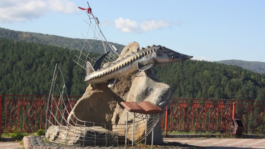 Смотровая площадка «Царь-рыба» по Красноярску