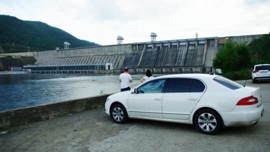 Красноярская ГЭС по Красноярску
