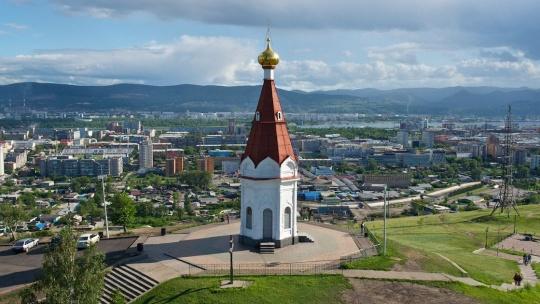 Часовня Параскевы Пятницы по Красноярску