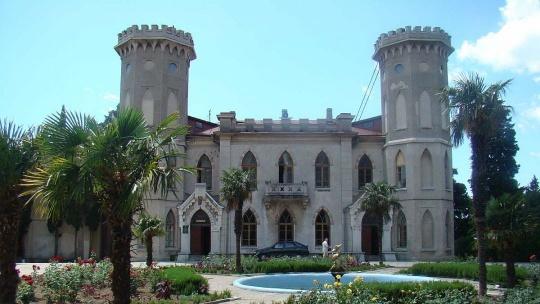 Юсуповский дворец в Учкуевке