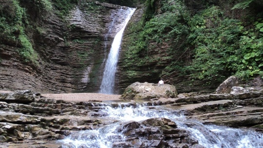 К водопадам Руфабго - фото 4