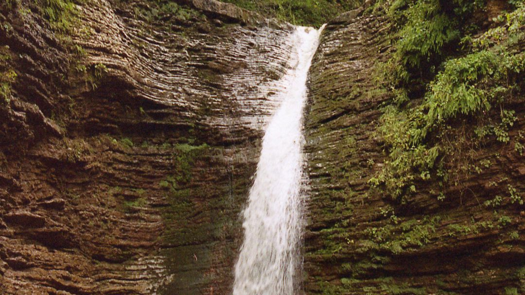 К водопадам Руфабго - фото 6