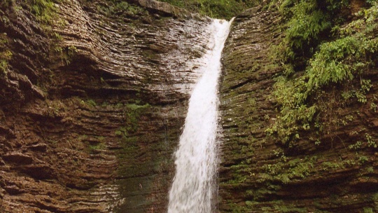 К водопадам Руфабго - фото 1