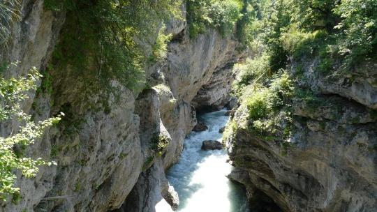 К водопадам Руфабго - фото 8