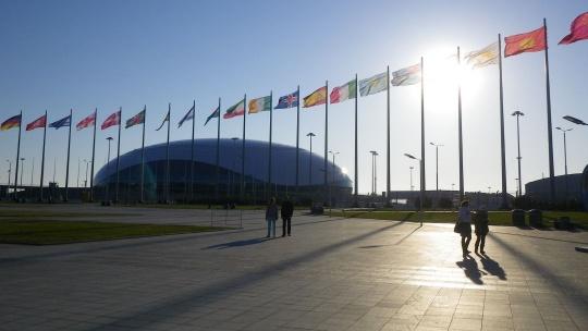 Олимпийский парк  в Адлере