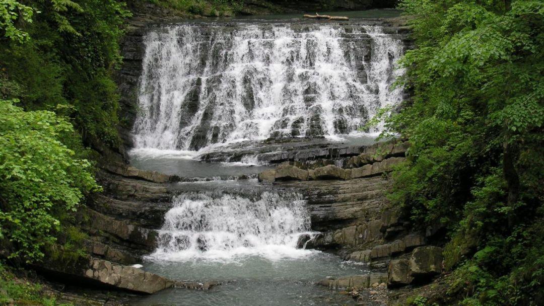 Мацестинская долина - водопады на реке Змейка - фото 1