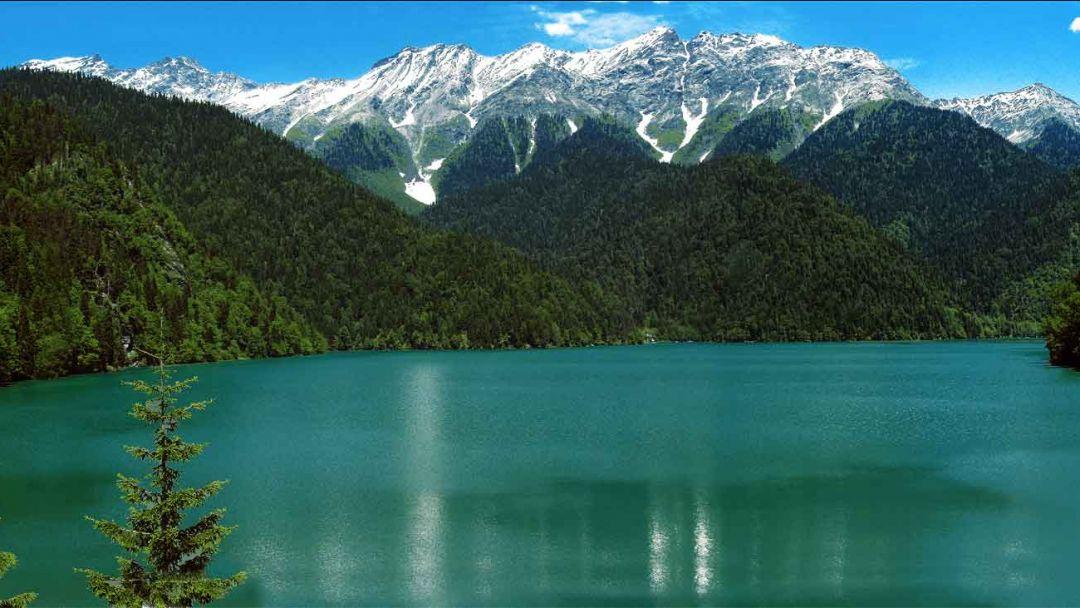 Озеро Рица (Абхазия) в Адлере