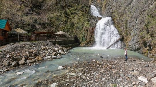 Мацестинская долина - водопады на реке Змейка - фото 2