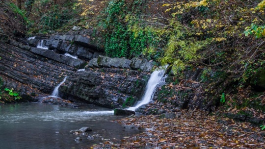 Мацестинская долина - водопады на реке Змейка - фото 3