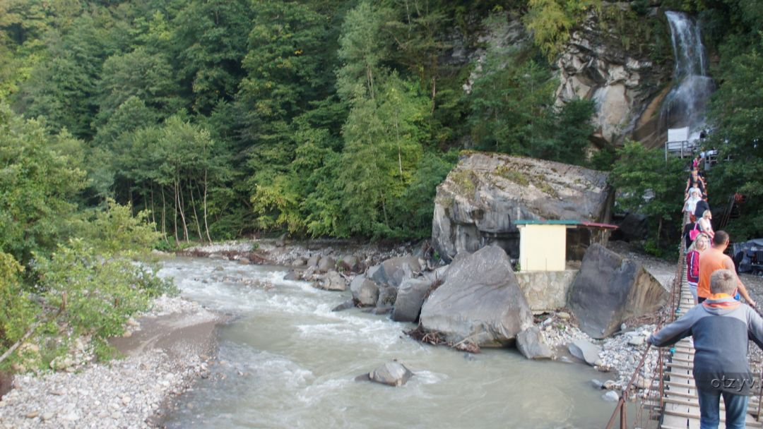 33 водопада - аул Большой Кичмай в Адлере