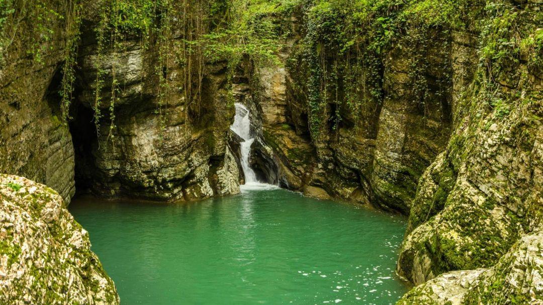 Ущелье реки Агура - фото 3