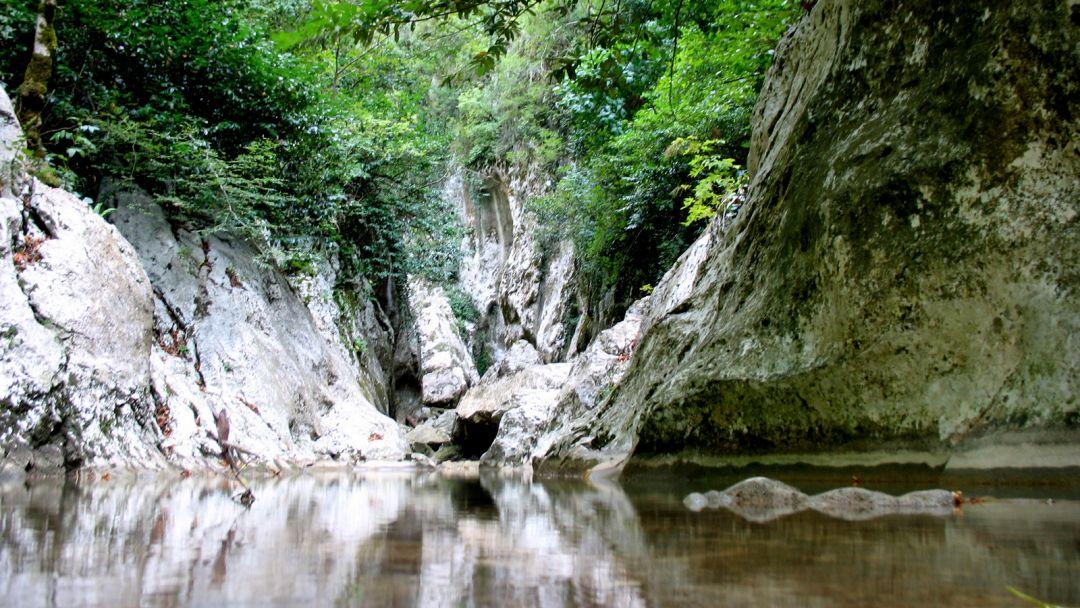 Ущелье реки Агура - фото 4