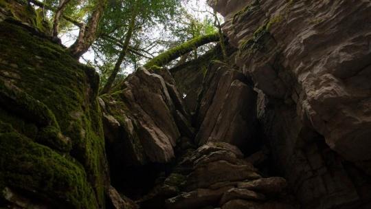 Сухой и мокрый каньоны реки Псахо - фото 4