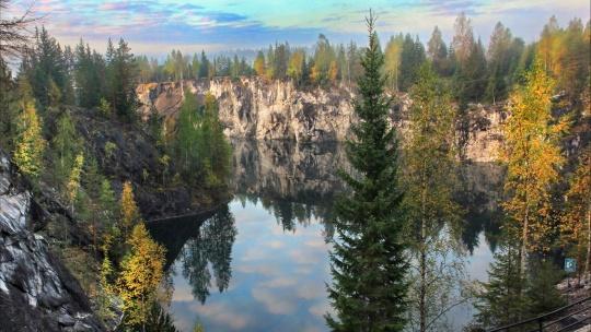 Экскурсия Горный парк Рускеала и рускеальские водопады
