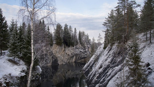 Горный парк Рускеала и рускеальские водопады - фото 2