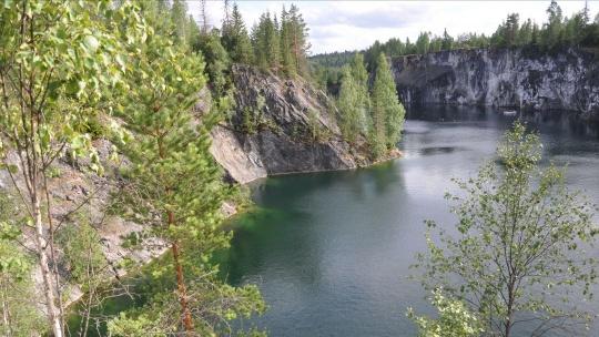 Горный парк Рускеала и рускеальские водопады - фото 3