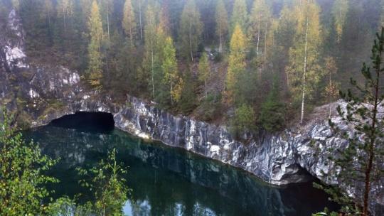 Горный парк Рускеала и рускеальские водопады - фото 4